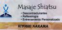 Masajes Shiatsu